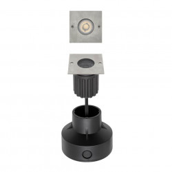 Corp iluminat Arelux XGround GD16WW36 - Corp incastrat cu led 1X6W 3000K 36grd. IP67 (5f), aluminiu