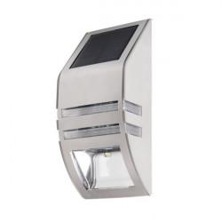 Corp iluminat Kanlux 25750 SOPER PV- Aplica de fatada, cu baterie solara, 0,16W, 6500k, IP44, crom