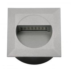 Corp iluminat Kanlux 4681 LINDA LED-J02 - Aplica incastrata led, 1,2W, 4000k, IP65, argintiu