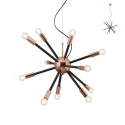 Corp iluminat Redo 01-1473 Stellar - Lustra , max 12x25W, E14, IP20, negru-bronz