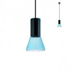 Corp iluminat Redo 01-1688 Jano - Lustra, max 1x42W, E27, IP20, sticlă suflată bleu