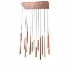 Corp iluminat Redo 01-2055 Madison - Lustra led, 56W, 3000k, 3808lm, bronz