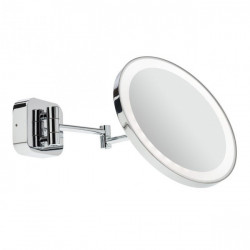 Corp iluminat Redo 01-968 Bob - Aplica pentru baie, led, 7W, 3000k, 256lm, IP44, crom