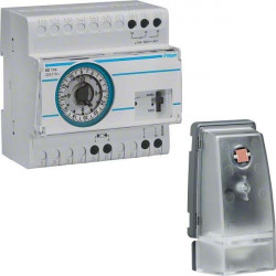 Hager EE110 releu senzor crepusculat - releu programabil + senzor crepuscular analog