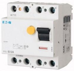 Intrerupator automat Eaton 235868 - PFR2-03-U-Releu diferential 2, 300mA, tip U, 25A