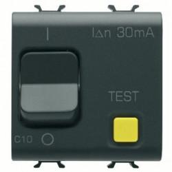 Intrerupator automat Gewiss GW12486 - DISJ. RCBO 1P+N C10 30mA 230V ac 3KA