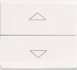 Intrerupator Bticino AM5037/2 Matix - Buton dublu cu interblocare10A 250V, 2 module, alb