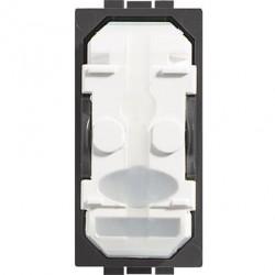 Intrerupator Bticino LN4003A Living Light - Intrerupator ca scara fara tasta 16A - 250V, 1 modul, borne automate