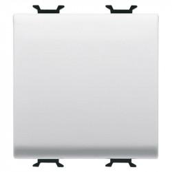 Intrerupator Gewiss GW10101F Chorus - Intrerupator cap cruce, cu cablare rapida, 2M, 1P, 16AX, alb