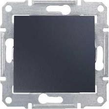 Intrerupator schnedier SDN0400470 Sedna - INTRERUPATOR CAP SCARA, 16 AX - 250 V GRAFIT