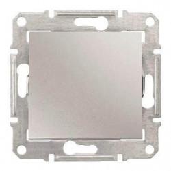 Intrerupator Schneider SDN0700160 Sedna - Intrerupator cu revenire 10 AX - 250 V, aluminiu