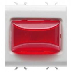 Lampa semnalizare Gewiss GW10633 Chorus Rosu 3W 2M