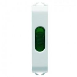 Lampa semnalizare Gewiss GW10642 Chorus - Lampa semnalizare (fara led), 1/2M, verde