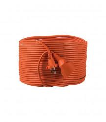 Prelungitor Kanlux 26212 NOKA - Prelungitor 10A, 1P, IP20, 2G1.0X20M, portocaliu