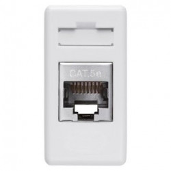 Priza Date Gewiss GW20243 System - Conector date RJ45 Cat 5e FTP Alb