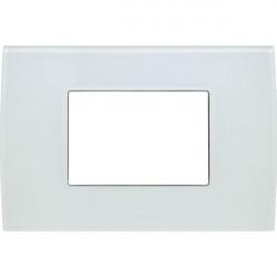 Rama Tem OP30GW-U Modul - Rama din sticla decorativa Pure 3m alb gheata