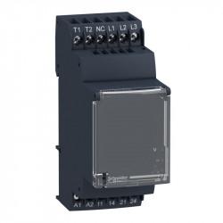 Releu Schnedier RM35TM50MW - Releu Control Tensiune Si Temp. Motor - Rm35-T - 24 - 240 V C.A./C.C. - 2 No