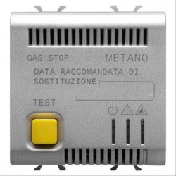 Senzor gaz Gewiss GW14712 Chorus - Detector metan CH4 2M 12V AC/DC TITANIUM