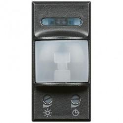 Senzor miscare Bticino HS4431 Axolute - Senzor infrarosu, 1M, 230V, 2A, negru