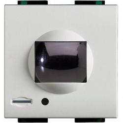 Senzor miscare Bticino N4654N Living Light - Senzor de miscare cu infrarosu, 2M, alb
