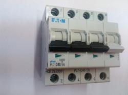 Siguranta automata Eaton 165274 - DISJUNCTOR PL7-C4/3N 4P, 4A, 10kA, C