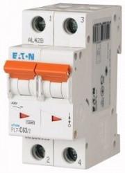 Siguranta automata Eaton 263365 - DISJUNCTOR PL7-C63/2, 2P, 63A, 10kA, C