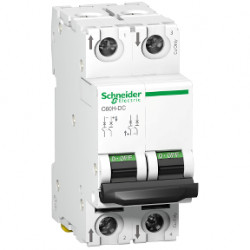Sigurante automate Schneider A9N61526 - DISJUNCTOR C60H-DC 500Vcc 2P, 6A, 6kA, C