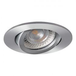 Spot Kanlux 18561 EVIT - Corp iluminat incastrat, directional, Gx5,3, max 50W, IP20, 12V, argintiu