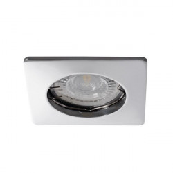 Spot Kanlux 26747 NESTA - Inel spot incastrat LED GU10, max 35W, IP 20, crom