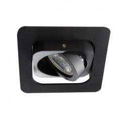 Spot Kanlux 26757 ALREN - Inel spot directional incastrat LED GU10, max 35W, IP 20, negru