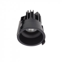 Spot LED Arelux XClub CU02WW50 BK - Corp LED 1x11W 3000K 500mA 50grd. IP20 BK (5f), negru