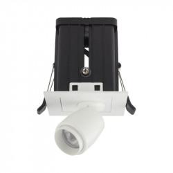 Spot LED Arelux XMicro Recessed MC03WW MWH - Corp iluminat cu LED 3W 700mA 3000K 36grd. MWH (5f), alb