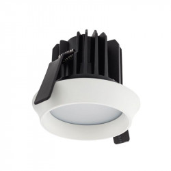 Spot LED Arelux XWell WE02WW MWH - Corp iluminat cu led 1X15W 3000K 700mA IP54 (5f), alb