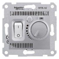 Termostat Schneider SDN6000160 Sedna - Termostat de camera 10 A - 230 V, aluminiu