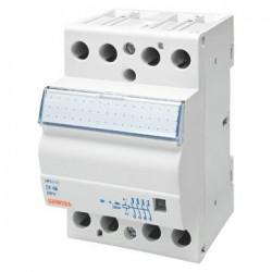 Contactor Gewiss GWD6724 - Contactor putere CTR - 40A 4NO 230V - 3 MODULES