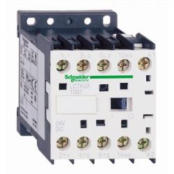 Contactor Schnedier LC1K090085M7 - Contactor putere Tesys Lc1-K - 4 Poli (2No + 2Nc) - Ac-1 440 V 20 A -Bob. 220 - 230 Vc.A.