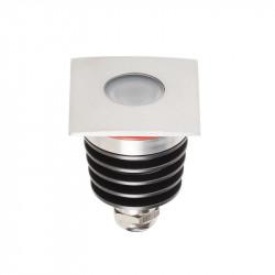 Corp iluminat Arelux XGround GD14WW45 - Corp incastrat cu led 1X3W CREE 3000K 45grd IP67 SS (5f), aluminiu