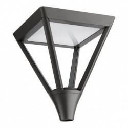 Corp iluminat Arelux XTown TT01WW DG - Corp iluminat rezidential 45W 3000K IP65 (5f), negru