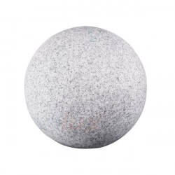 Corp iluminat Kanlux 24654 STONO 20N - Aplica gradina E27, max 25W, IP65, D=20cm, granit