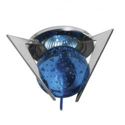 Corp iluminat Kanlux 2890 TRISTAN CTX-10+K1-C - Spot Gx5,3, max 50W, 12V, IP20, crom/albastru