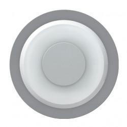 Corp iluminat Kanlux 8540 IPSA LED-8O - Aplica iluminat trepte, 0,5W, 12V DC, 6500k, IP20, argintiu