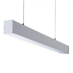 Corp iluminat LED Kanlux 27415 Alin Led- Corp liniar 4LED 1X120-SR, T8, G13, 1240mm, argintiu