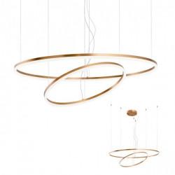 Corp iluminat Redo 01-1721 Orbit - Lustra led, 108W, 3000k, 8442lm, bronz