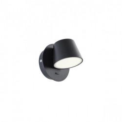 Corp iluminat Redo 01-1739 Shaker - Aplica led, 6W, 3000k, 570lm, negru