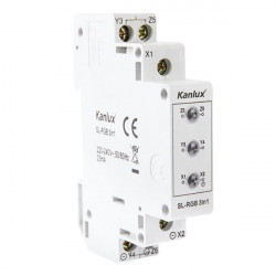 Deterctor tensiune Kanlux 22070 - Detector tensiune montat pe sina SL-RGB, 3in 1