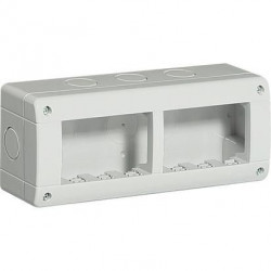 Doza aparenta Bticino 24406 Living Light - Doza aparenta IP40, 6 module, alba