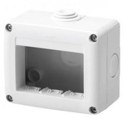Doza Gewiss GW27003 System - Doza aparenta, IP55, 3 module, alb
