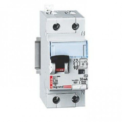 Intrerupator automat Legrand 411002 - SOHO DX3 1P+ND C16 6000A AC 30MA