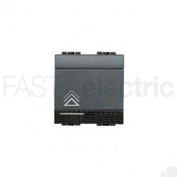 Intrerupator Bticino L4582N Living Light - Variator, comanda tactila, rezistiv/inductiv 450W-800W, 2M, 250V, negru
