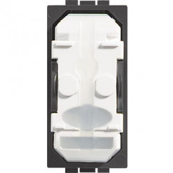Intrerupator Bticino LN4004 Living Light - Intrerupator cap cruce fara tasta 16A - 250V, 1 modul, borne cu surub